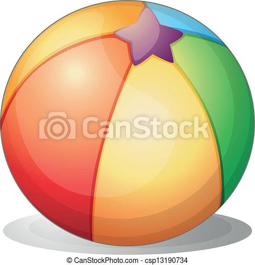 A beach ball - csp13190734
