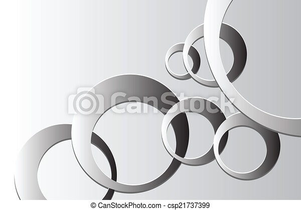 Abstract background with vector elements - csp21737399
