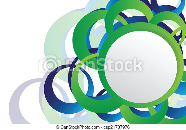 Abstract background with vector elements - csp21737976