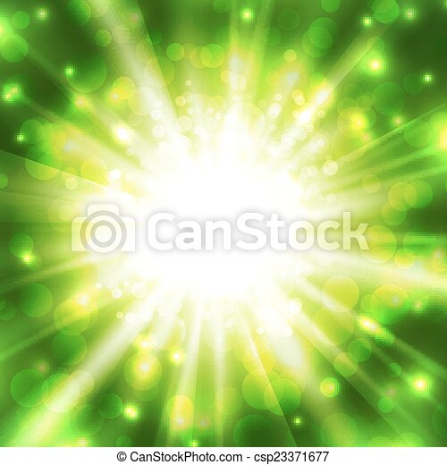 Abstract glowing vector background - csp23371677