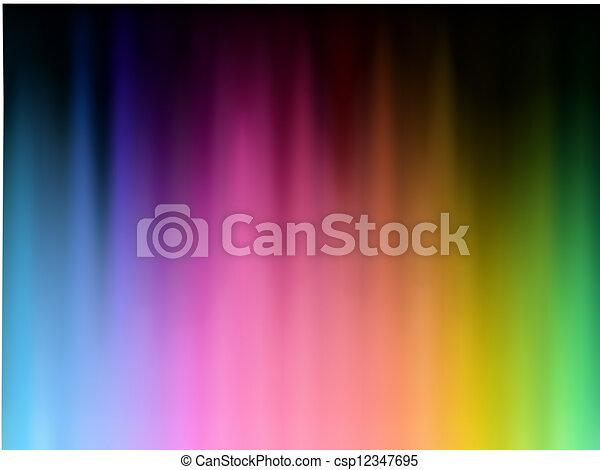 Abstract spectrum background - csp12347695