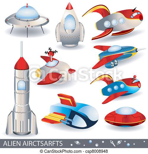 alien aircrafts - csp8008948