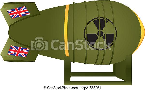Aviation UK atomic bomb - csp21567261