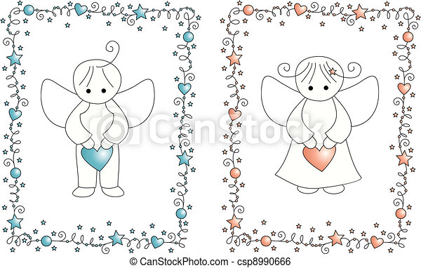 baby arrival card - csp8990666