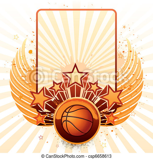 basketball background - csp6658613