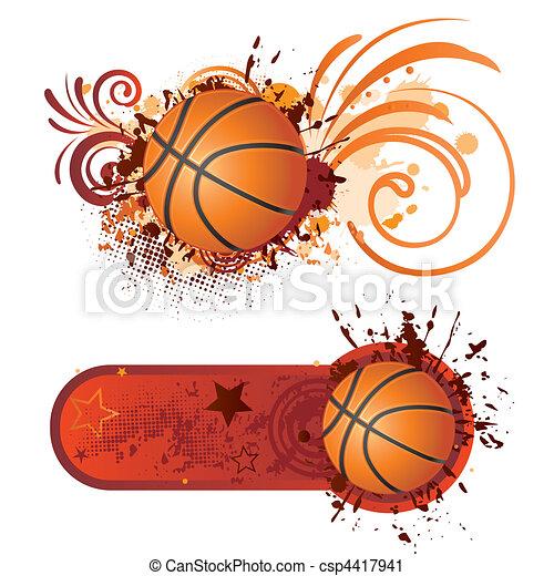 basketball - csp4417941