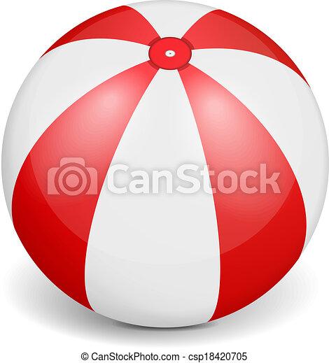 Beach Ball - csp18420705