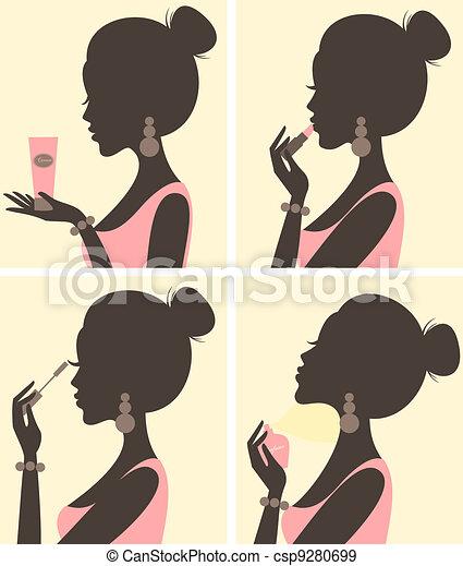 Beauty Routine - csp9280699