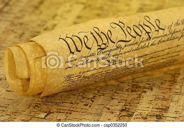 Bill of Rights - csp0352250