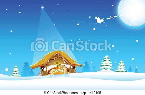 Birth of Jesus - csp11412105
