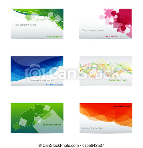 Business cards - csp5642587