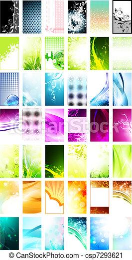 business cards templates - csp7293621
