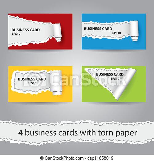 business cards - csp11658019