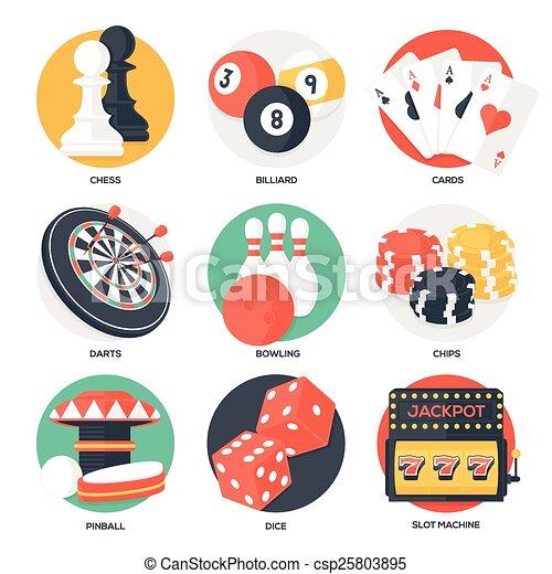 Casino Sport and Leisure Games - csp25803895
