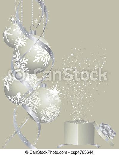 christmas background - csp4765644