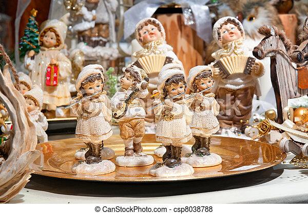 Christmas Market. - csp8038788