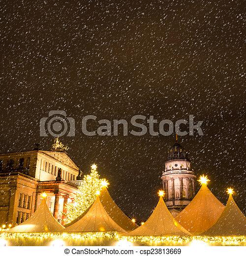 christmas market - csp23813669