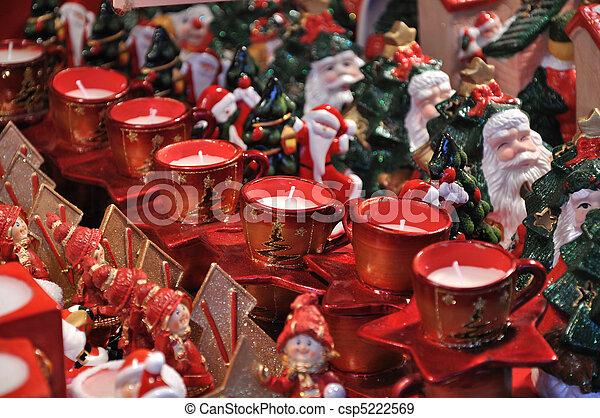 Christmas market - csp5222569