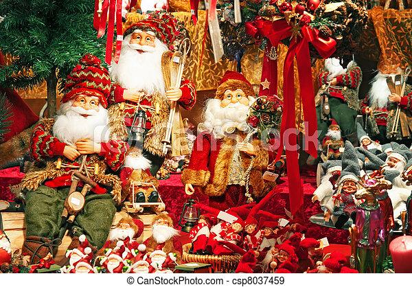 Christmas Market. - csp8037459