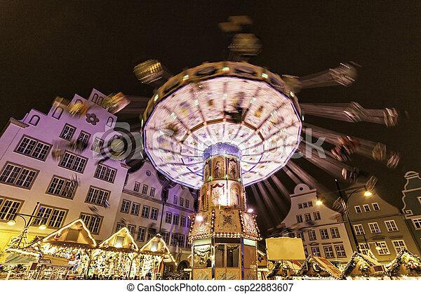 Christmas market - csp22883607