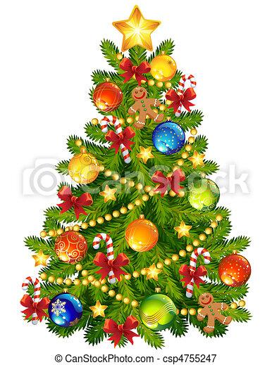 Christmas tree - csp4755247