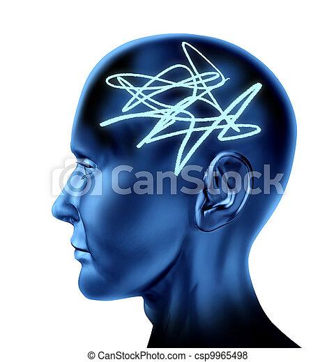 Confused Brain - csp9965498