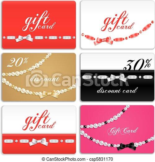 Gift card set - csp5831170