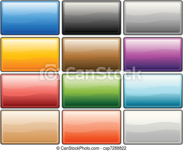 Glossy internet buttons - csp7288822