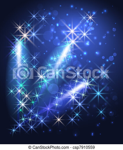 Glowing background - csp7910559