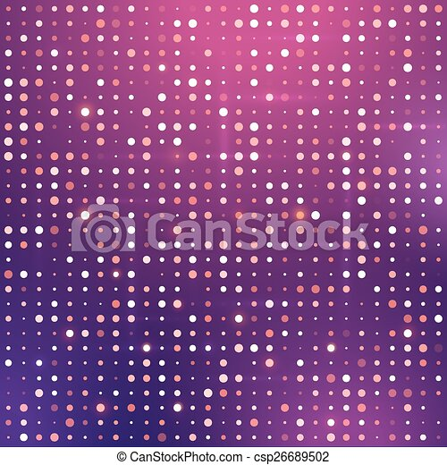 Glowing dots. - csp26689502