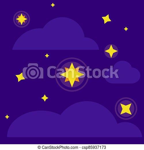 glowing star - csp85937173