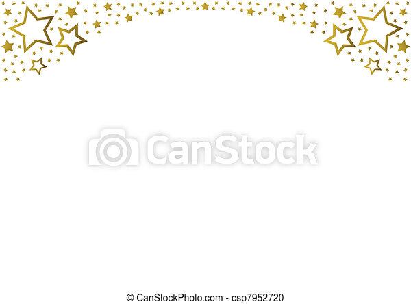Golden Stars - csp7952720