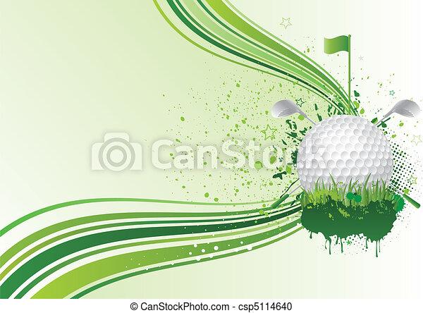 golf background - csp5114640