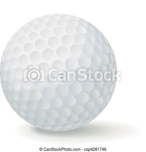 Golf Ball - csp4281746