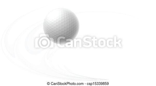 Golf ball - csp15339859