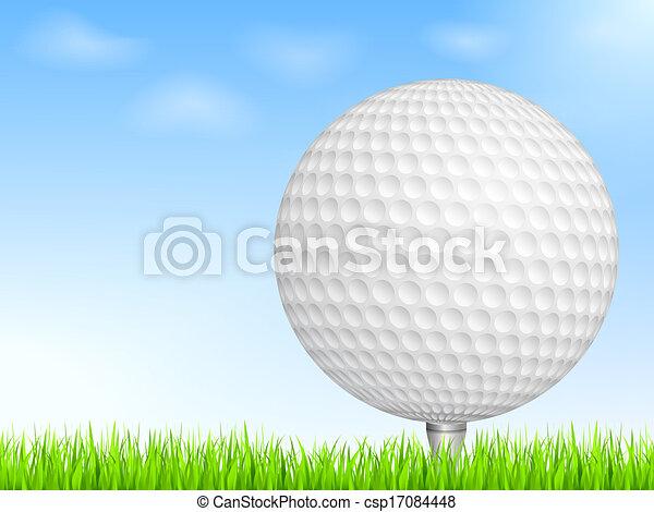 Golf Ball - csp17084448