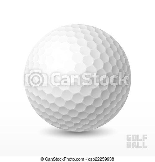 Golf ball - csp22259938