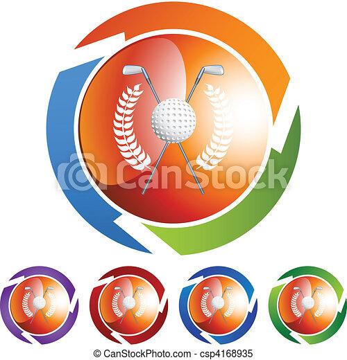 Golf - csp4168935