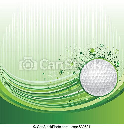 golf sport background - csp4830821