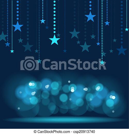 Hanging Stars - csp20913740