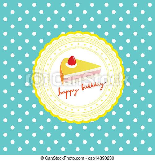Happy Birthday - csp14390230