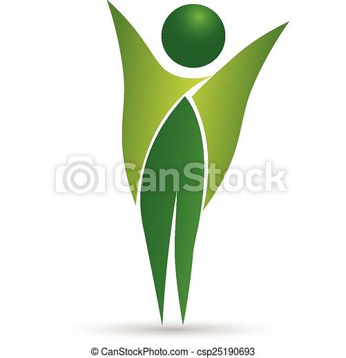 Healthy life logo vector - csp25190693