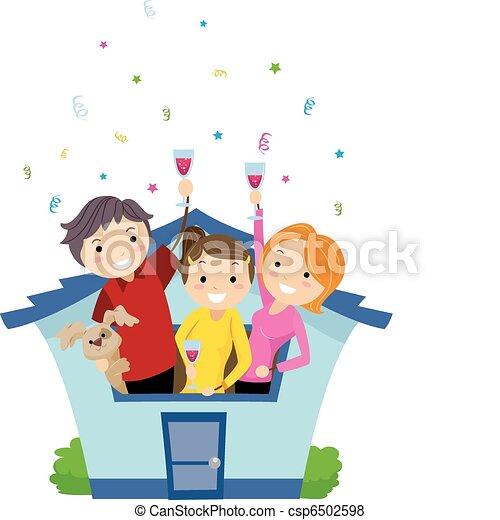 Housewarming Party - csp6502598