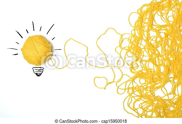 Idea and innovation concept - csp15950018