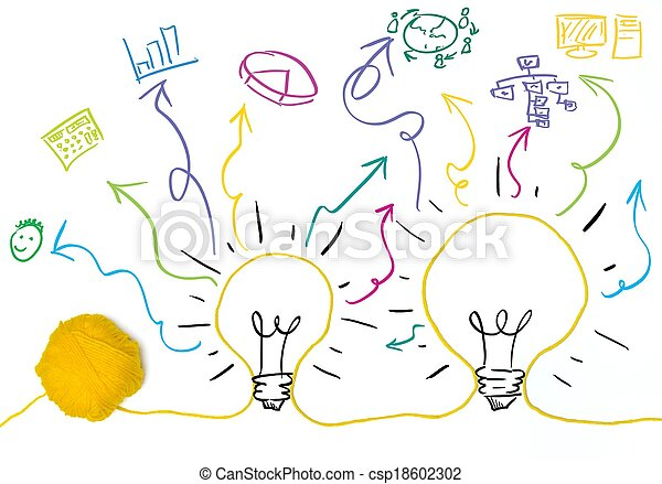 Idea and innovation concept - csp18602302