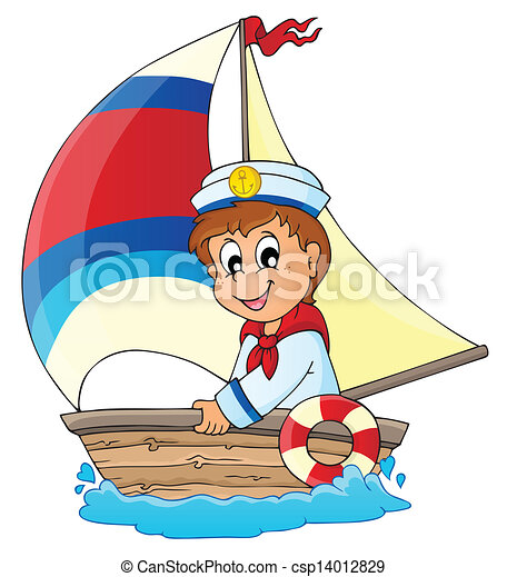 Image with sailor theme 3 - csp14012829