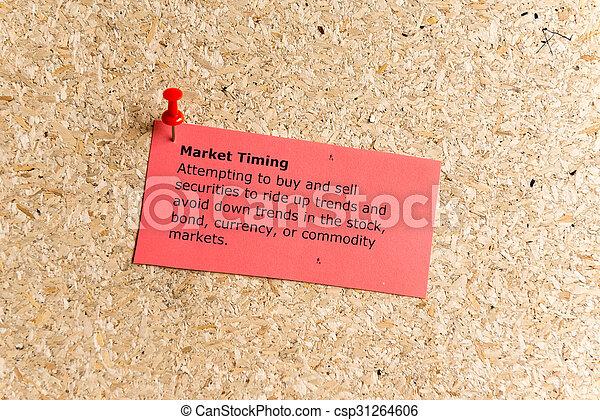 market timing - csp31264606
