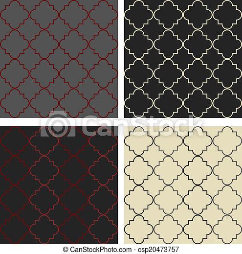 Moroccan pattern - csp20473757