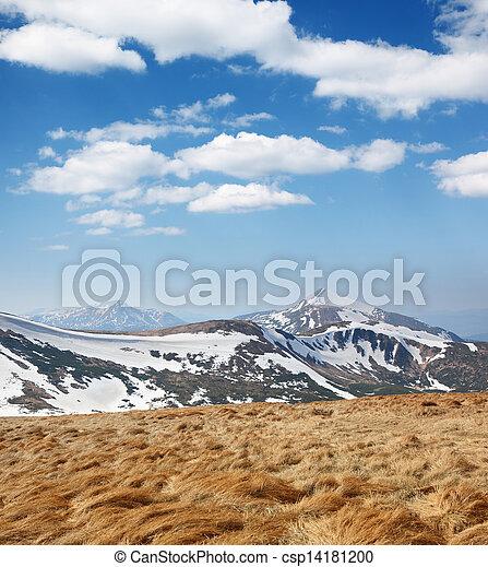 mountain landscape - csp14181200