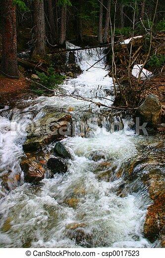 Mountain Stream 2 - csp0017523